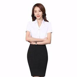 女士短袖衬衣08